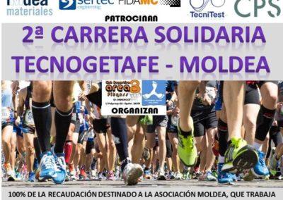 2ª Carrera solidaria Tecnogetafe-Moldea